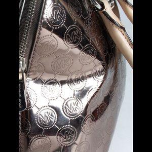 Michael Kors Bags - Michael Kors Emmy Mirror Metallic Satchel Bag